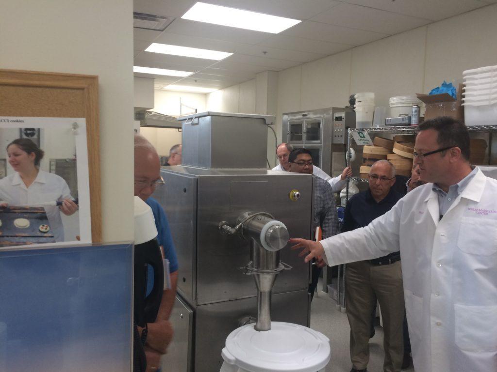 Rapidojet pre-hydrating flour