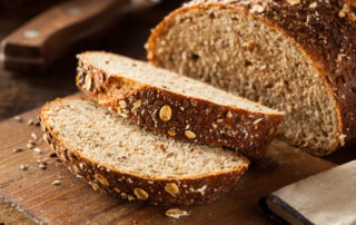 whole wheat bread, bran, healthy bread